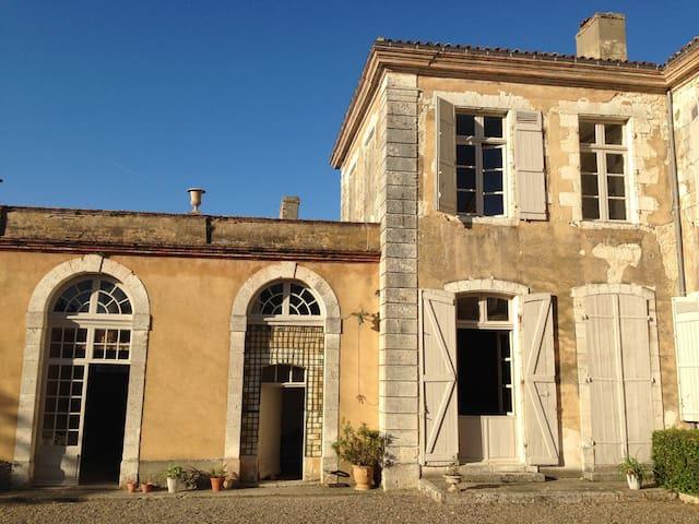 Appartement de charme dans chateau gersois - Avensac - Flat