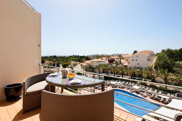 Modern spacious penthouse apartment, with sea views - Parque nº 4