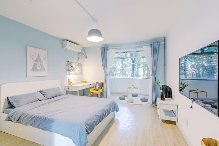 超大两居室 精装公寓  1层 工体/三里屯/国贸/使馆区 天安门