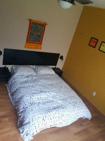 cama de casal estilo japonês!