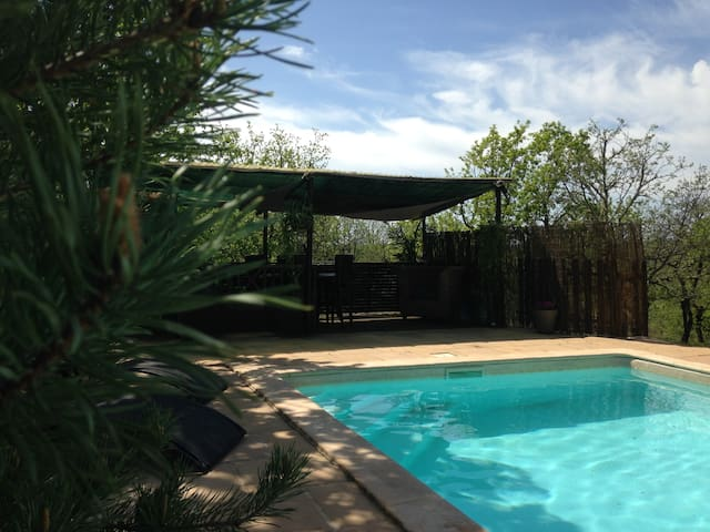 A la campagne, terrasse, piscine  .... - Arcambal - อพาร์ทเมนท์