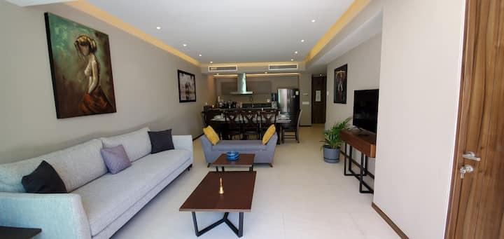Apartamento Nuevo, con terraza y excelente vista.