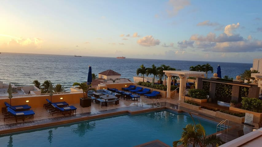 Marriott Beachfront, 2-bedroom full suite - Fort Lauderdale - Appartement