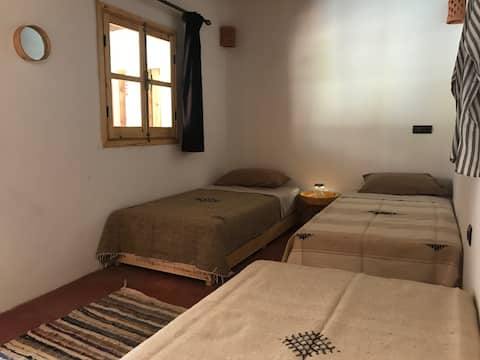 Three bed room: Amlougui-House, time to experience
