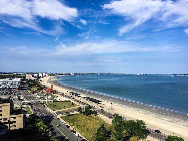 ★15th Floor Ocean View★Sunny&Spacious|On Blue Line