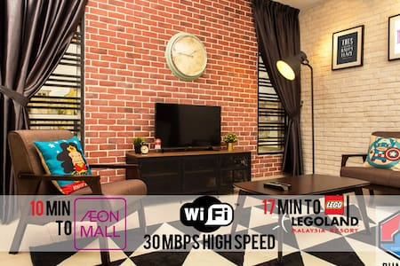 Rumah JOHO - Homestay with 300 Mbps WIFI