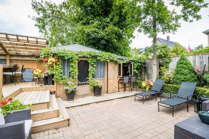 Home with Beautiful Outdoor Area