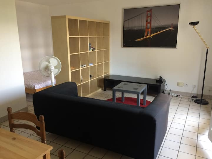 Cosy apartment with balcony and free parking
