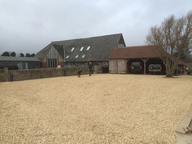 Beautiful Sussex barn conversion near Goodwood