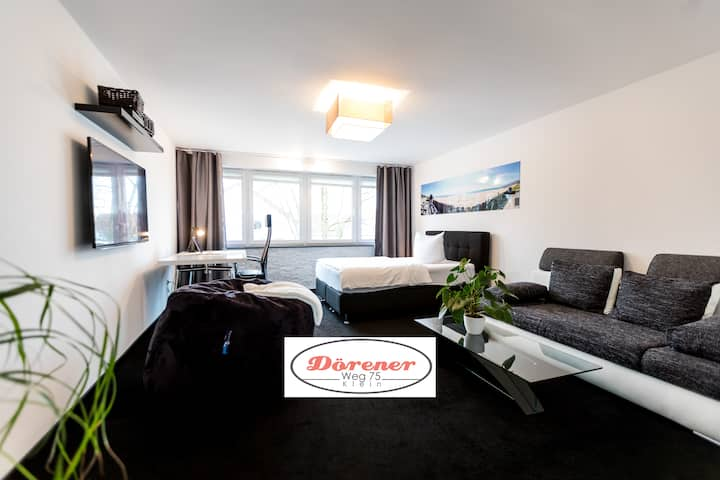 1 room business flat over bakery