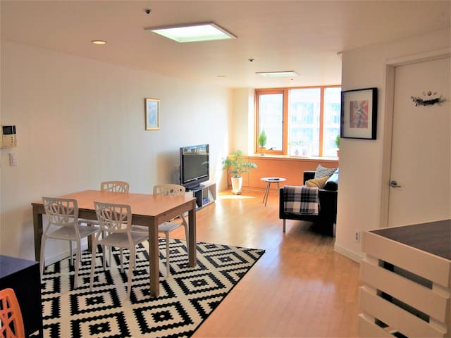 2BD Apartment with Free Mobile Wifi - Seongnam-si - Flat