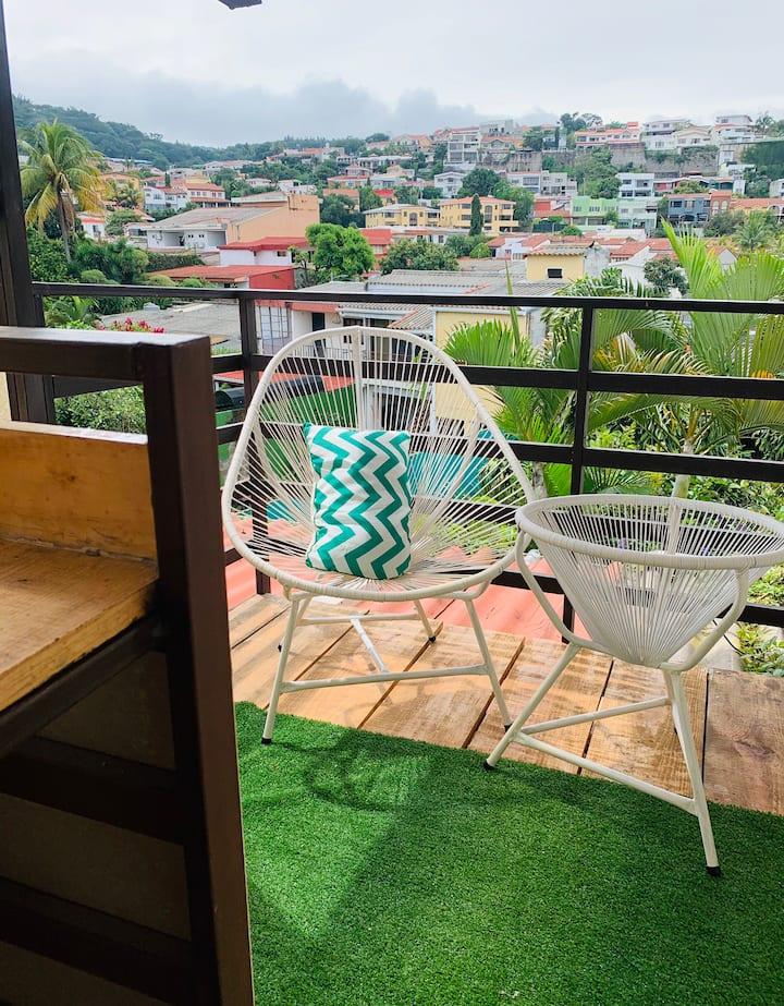 Habitacion privada con terraza