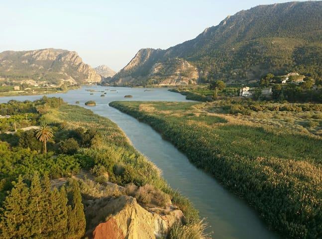 River Segura, Blanca.