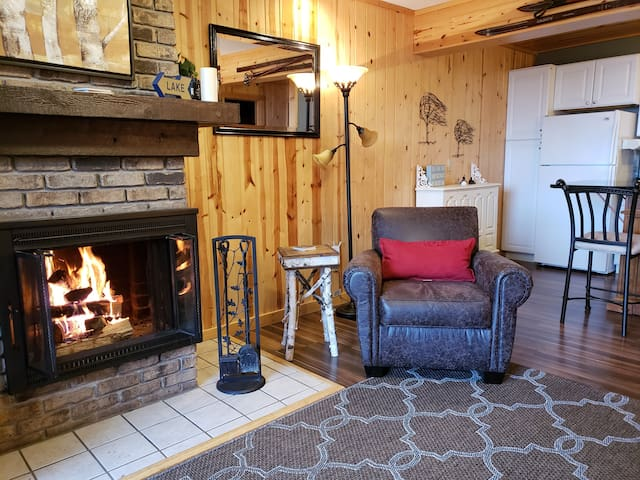 Cozy Lake Superior Condo. Ski Lutsen Mountain