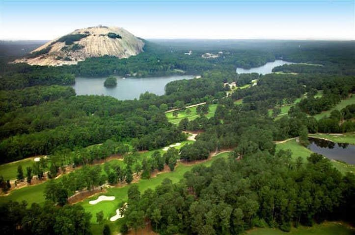 Consciousness/Nature/Spirit in Stone Mountain.