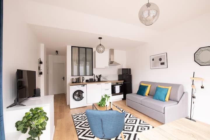 ♥ Bright apartment Parc de la Villette - 4P