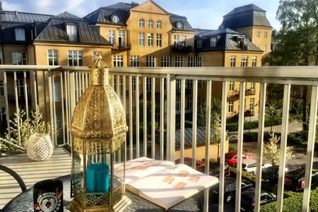 Modern apartment topp floor south of Stockholm - Salem - Διαμέρισμα