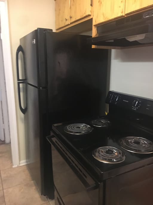 Electric stove and refrigerator