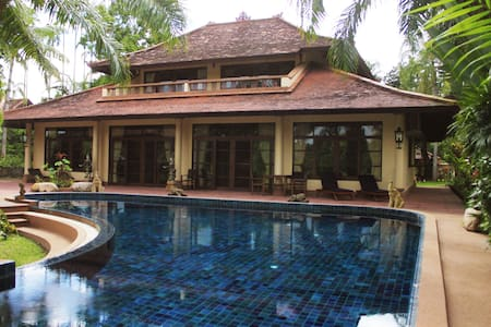 Lakefront Paradise Villa with pool + 3 Bedrooms - Tambon Luang Nuea
