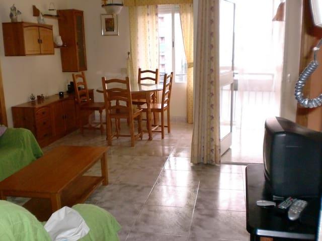 habitaciones para estudiar o visitar Granada - Granada - Departamento
