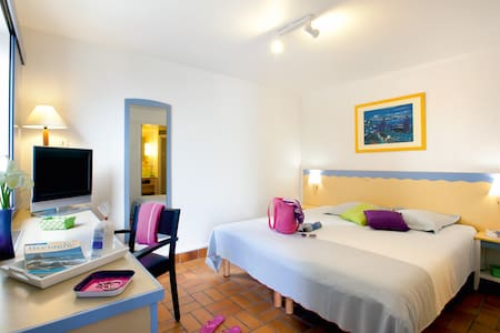 Appartement 3 pièces - 300m. de l'océan - piscine - Batz-sur-Mer