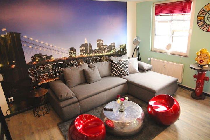 Moderne Zentrum-Wohnung inkl. W-LAN (10K) - Iserlohn - Huoneisto