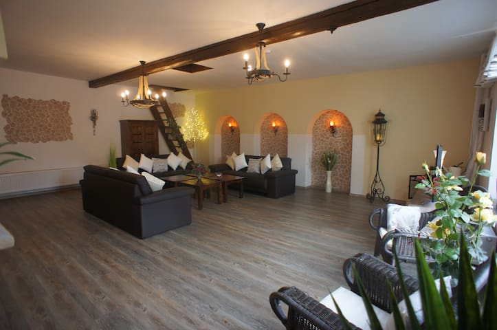 Villa Romantica large holiday home for up to 12 people, dogs welcome