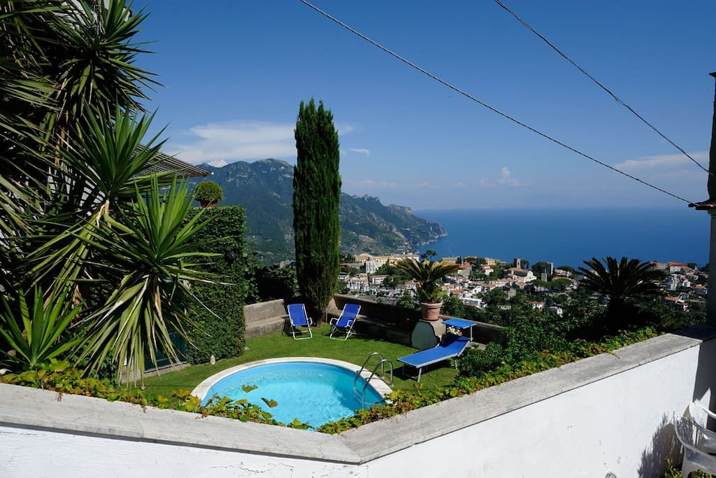 Private pool and view