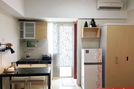 Oneroom for 2 people (Green Lake View Apartment) - Ciputat - 公寓