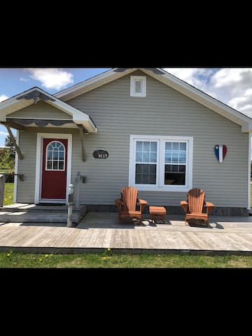 Summer cottage near the Bouctouche NB sand dunes