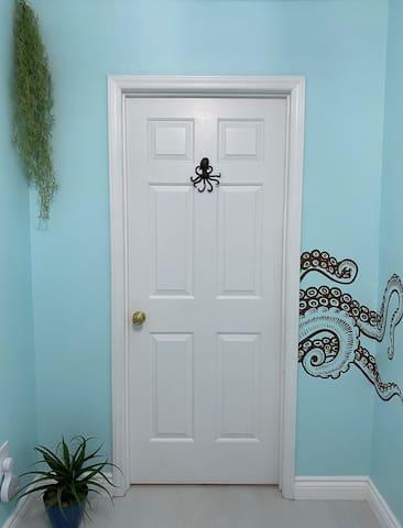 Door to the Kraken room