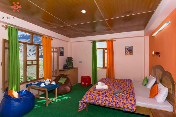Hostel in Kaza- Private Room - Spiti Valley - Villa