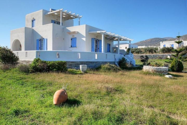 Cycladic blue house