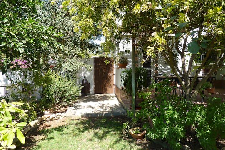 Piso con jardín, patios y terraza - Conil de la Frontera