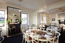 Royal Hotel Mornington Dining Room