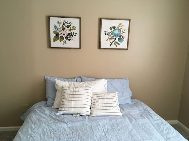 Blue Bedroom Downstairs