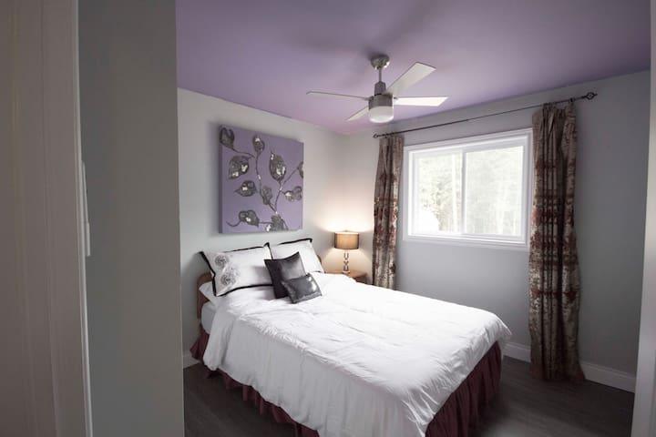 Bedroom 2 - Queen Bed and closet