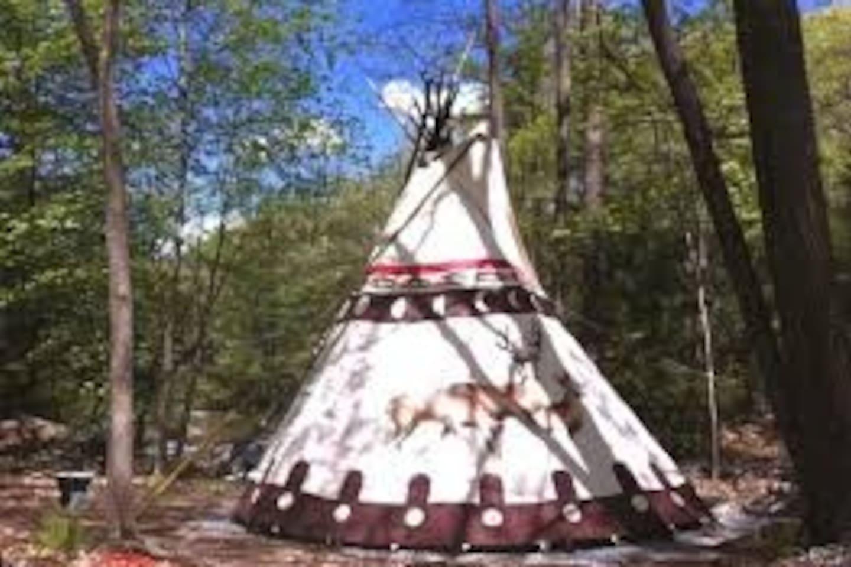#6) Native American Ceremonial Tipi