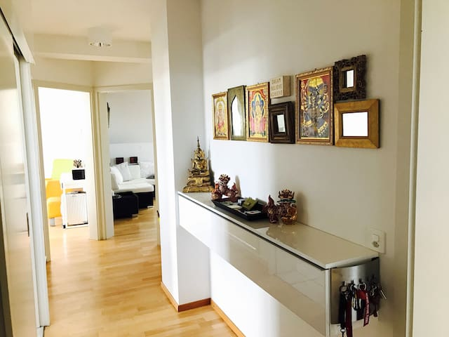 Beautiful apartment 5 min walk to Constance center
