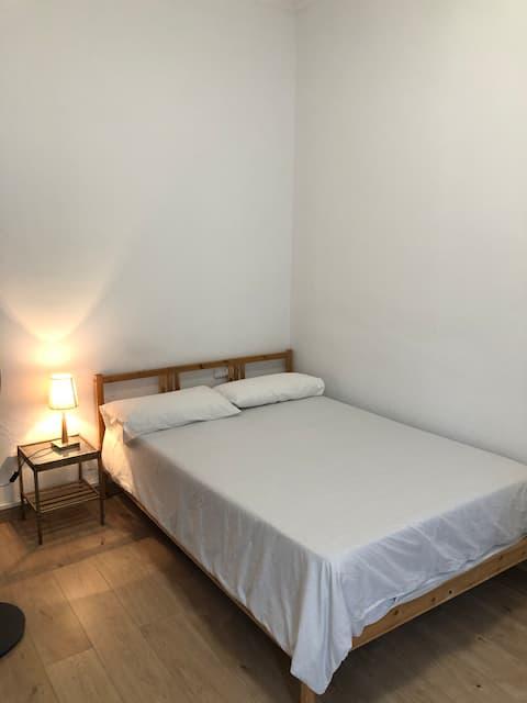 Habitación doble balcón clinica Novaliança
