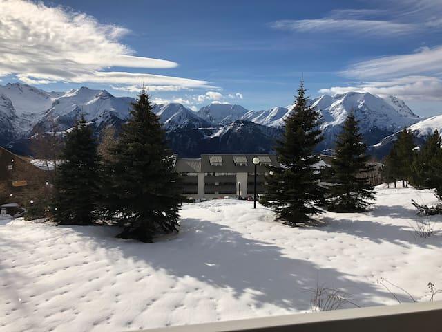 Appartement Alpe d'Huez, plein Sud, 26m2 + balcon