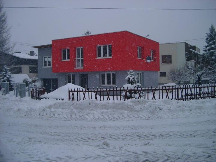 Ustron-centrum: apartament / ruhige Ferienwohnung
