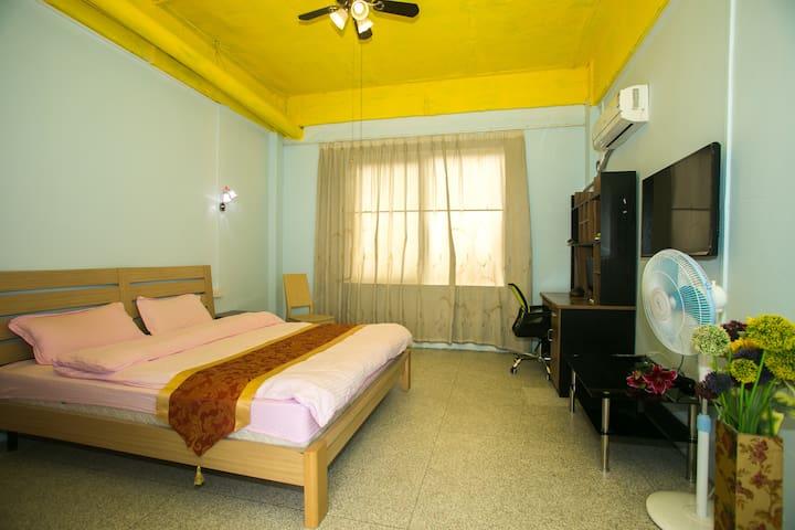 大学城新造度假主题公寓大床房特价短租 - Guangzhou - Appartement