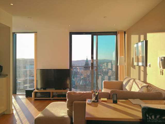 Luxury apartment in city centre.