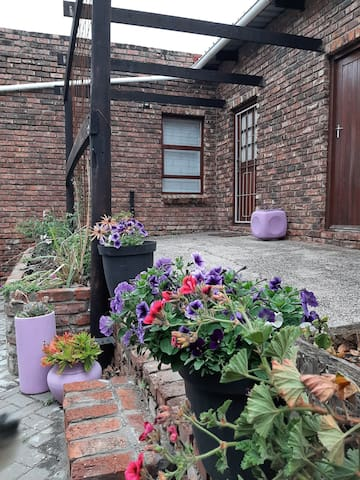 self catering cottage on working smallholding