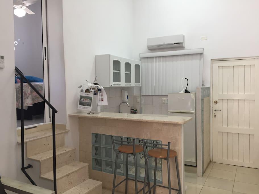 Arras miramar modern private house casas particulares for Fumer dans la salle de bain