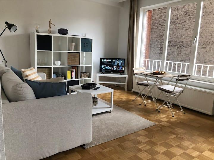 Superbe studio lumineux au cœur de Bruxelles (E.U)