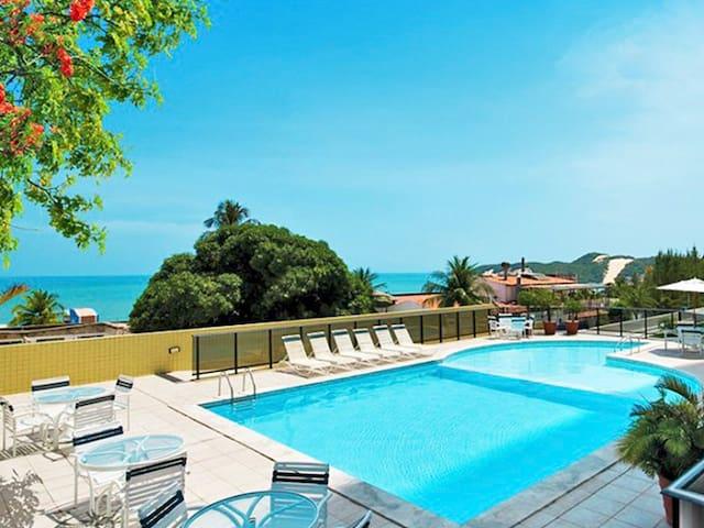 Apartamento Paradise Ponta Negra Flat - Natal - Flat