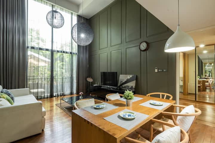 Unique modern style 3 bed rooms with duplex floor