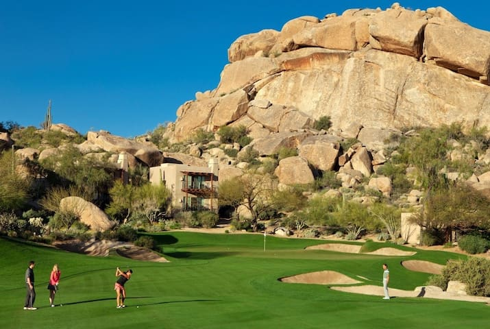 Boulders Paradise-Golf+Scottsdale+Pool+Spa+0 Fees!